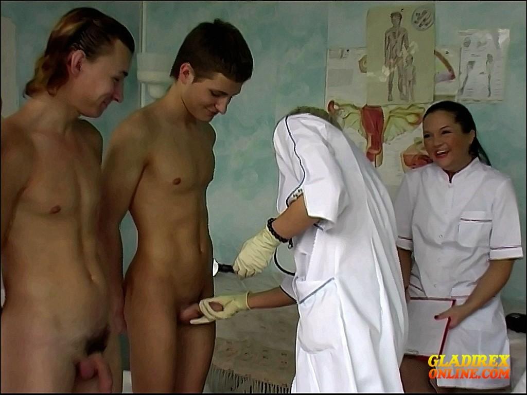 Young Boys Medical Exam - Group Exam Nr I