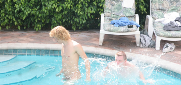 Big Dick By The Pool - 2