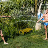 French Twinks Baptiste Garcia and Loic Miller - Midsummer Evening's Passion - 1
